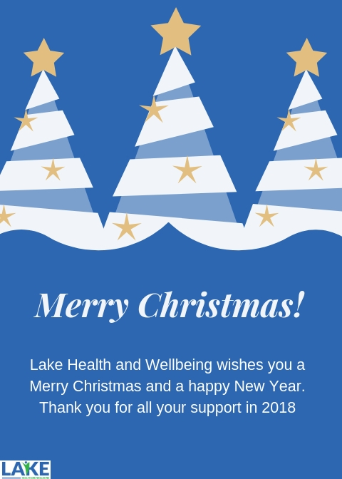 Christmas Card Lake Health And Wellbeing